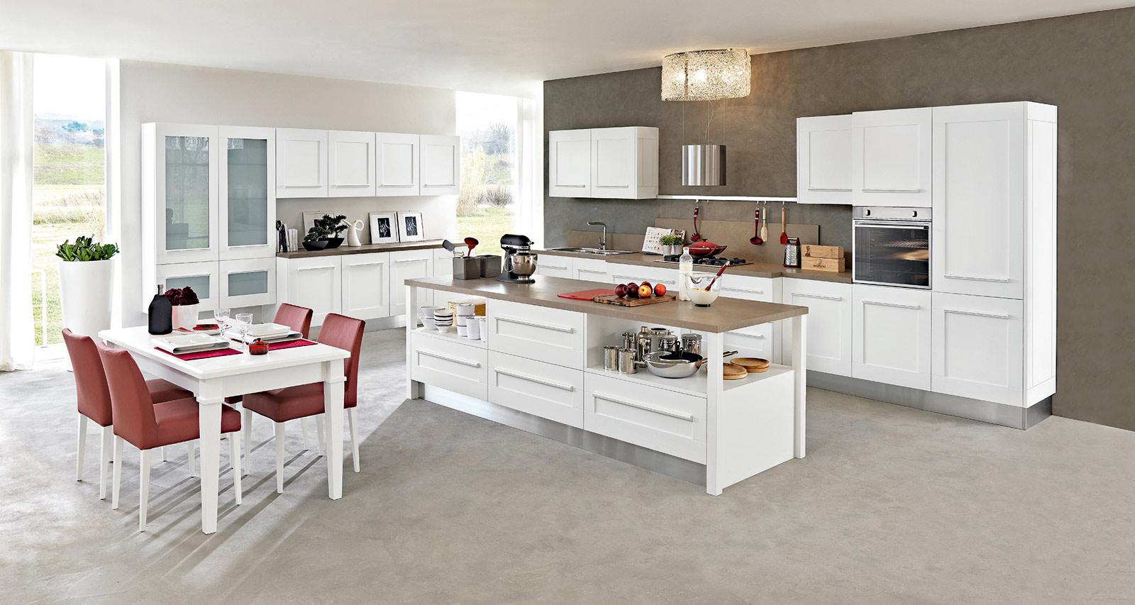 Mutfak 28 rva dekor vuslat orman r nleri mobilya - Colore pareti cucina bianca ...